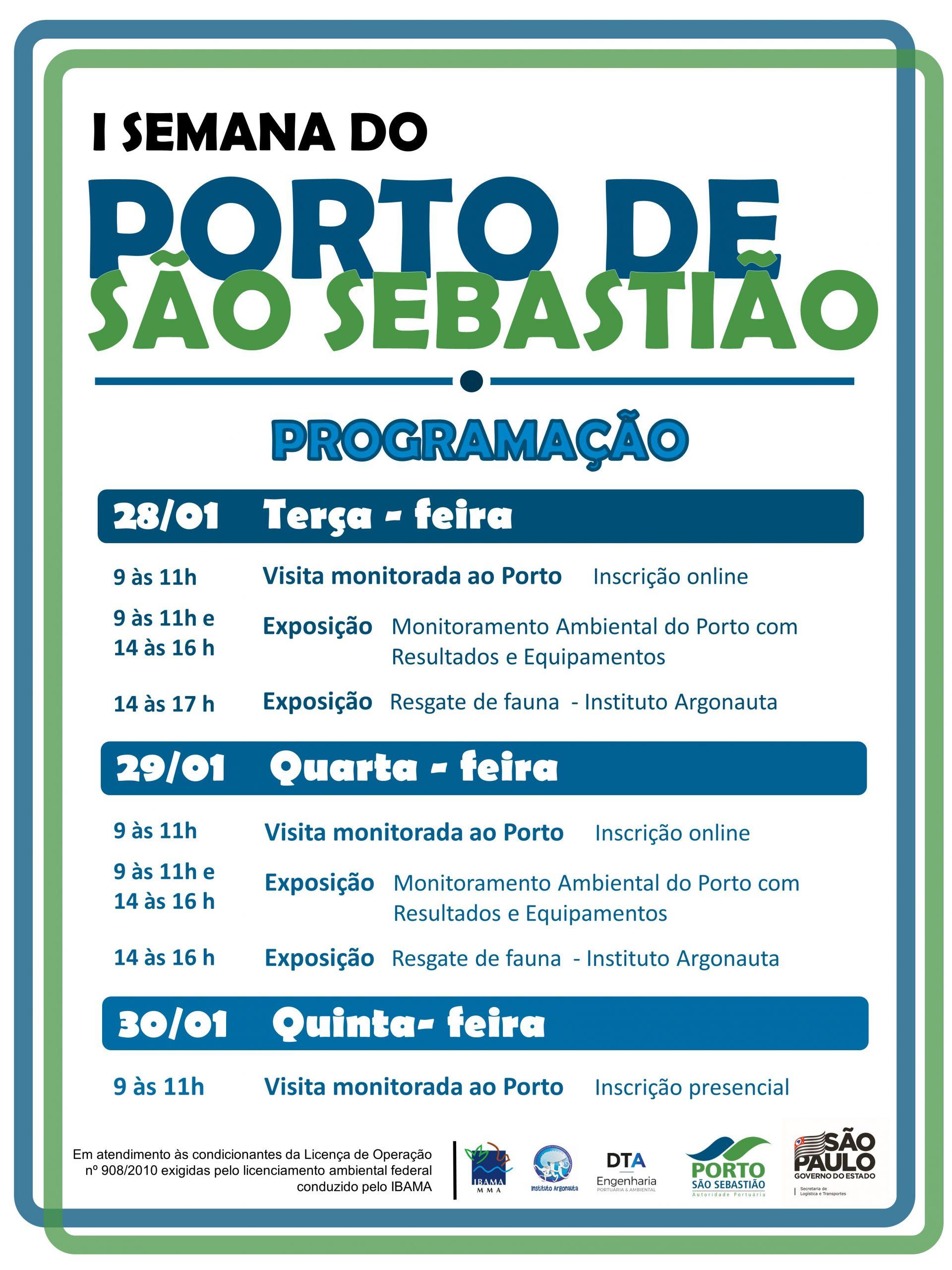 I Semana do Porto de São Sebastião