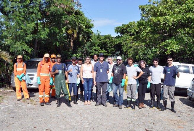 Porto de São Sebastião promove mutirão de limpeza de manguezais