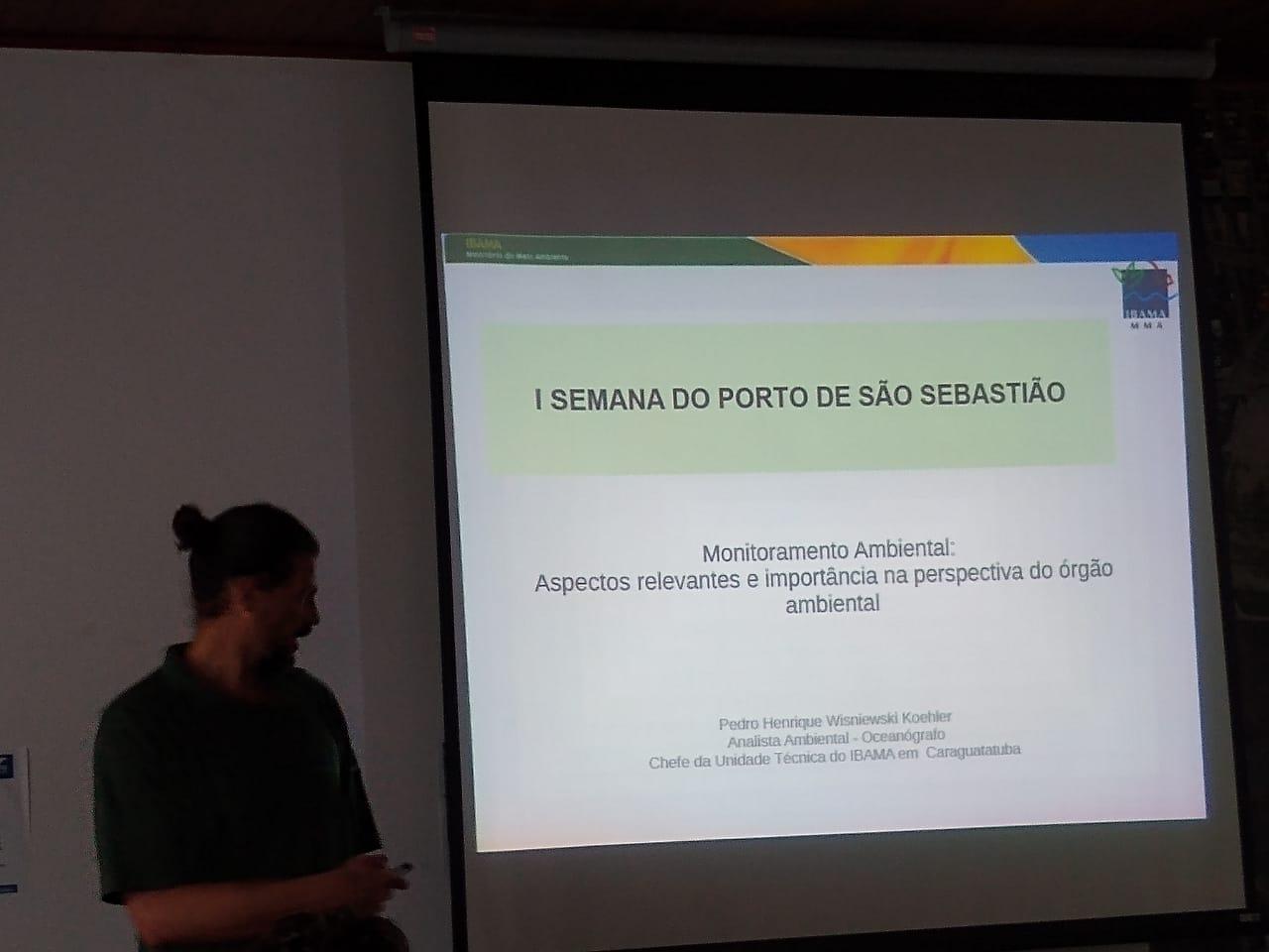 Workshop I Semana do Porto de São Sebastião