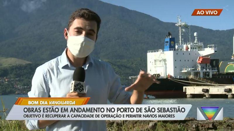 Porto de São Sebastião passa por obras para aumentar a capacidade